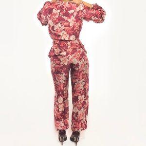 4e74670b836 Zara Other - Rare Zara Floral Print Voluminous 2pc Set